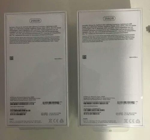 iPhone xs Max 256Gb dual sim.