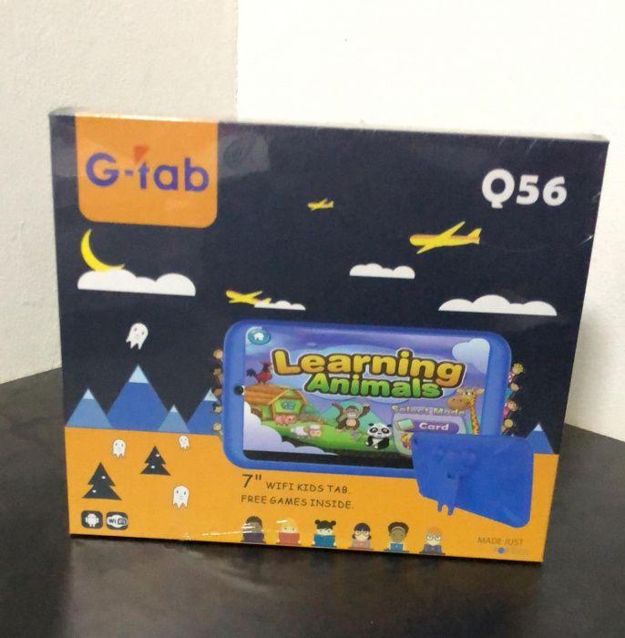 Tabletes Infantis G-tab Q56 selados