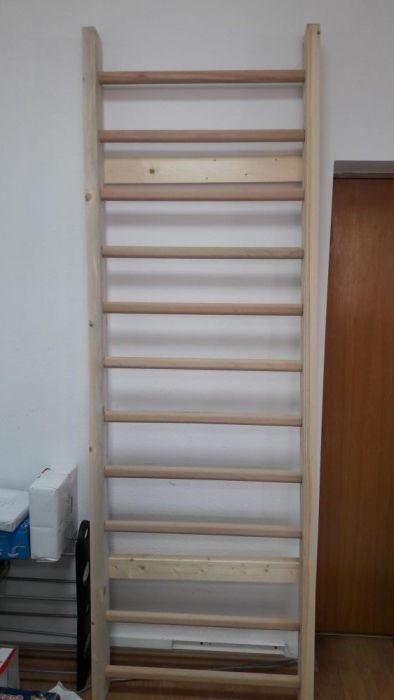 Spalier gimnastica 200/70 cm, lacuit
