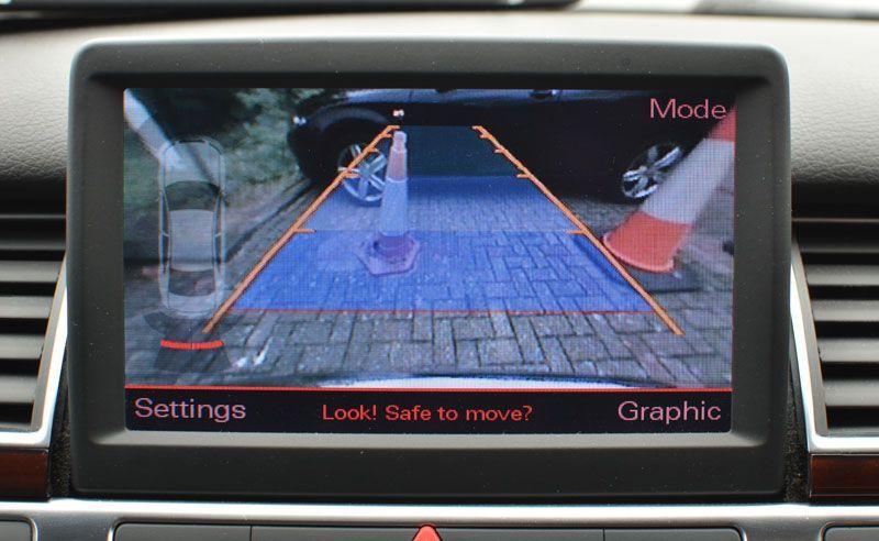 Repar mecanism rabatare display MMI navigatie camera Audi A8 4E