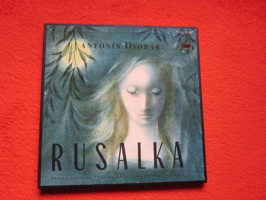 """vinil rar Dvořák –""""Rusalka""""-1963 -Boxset 4xLP"""