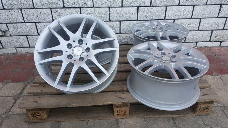Jante Mercedes SLK 7.5x17 et 36 5x112 OEM Oradea - imagine 6