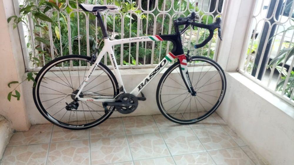 Basso laguna carbon italian bike