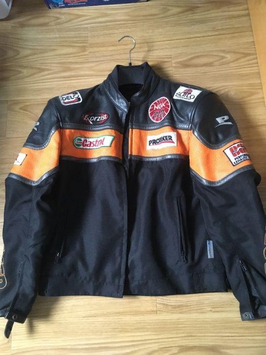 vand geaca moto Probiker -piele/textil marime 50