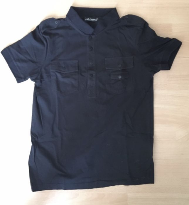 Tricou polo Dolce and Gabbana