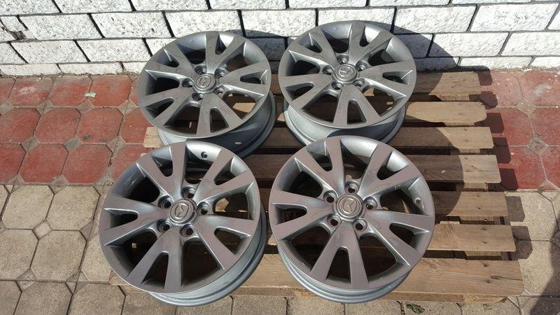 Jante Mazda 3 6.5x16 et 52.5 5x114,3 Oradea - imagine 1