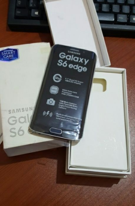 Samsung galaxy s6 edge novo a venda