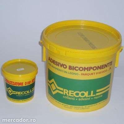Adeziv Bicomponent RECOLL pentru PARCHET lemn masiv , SCARI masive