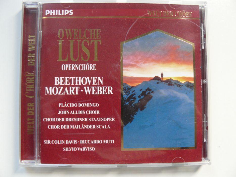 CD Opera BEETHOVEN,MOZART,WEBER Original,Impecabil,Cu Placido Domingo