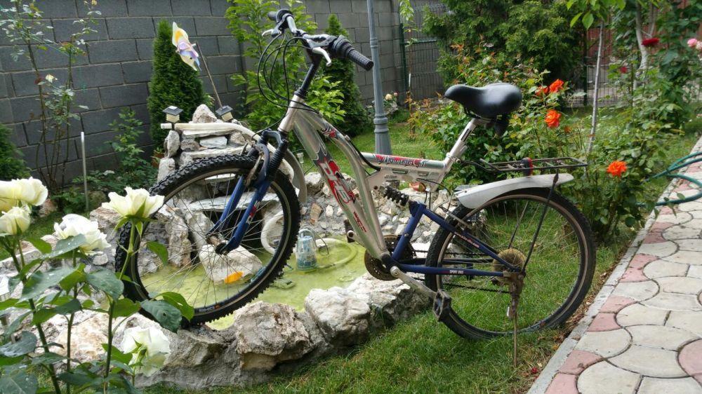 Bicicleta mountain cat, DHS, genti duble, state buna