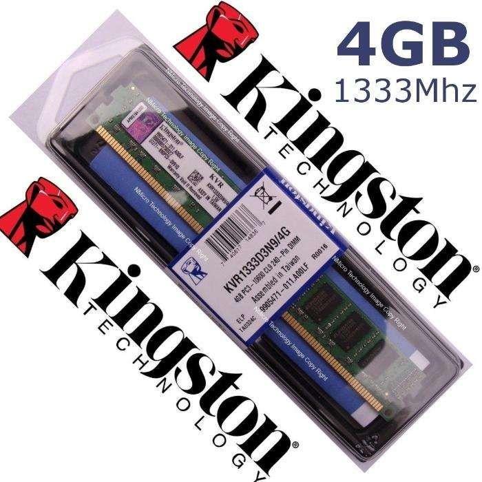 Kingston 4GB (1x 4G) - DDR3-1333 MHz PC3-240Pins