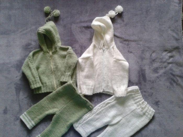 Costum bebe nou lucrat de mana