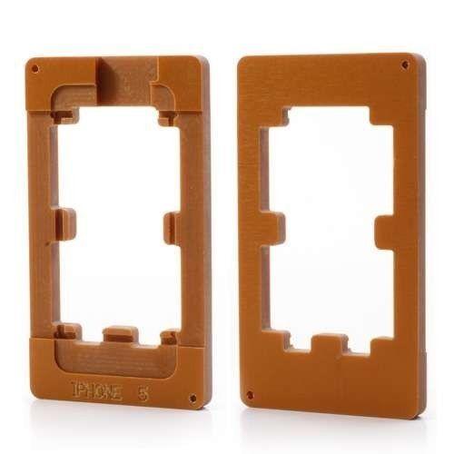 Model Aliniere Matrita Display Touchscreen Si Geam Pentru iPhone 5, 5S
