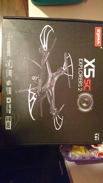 Drona SYMA X5SC Explorers 2 camera HD - noua