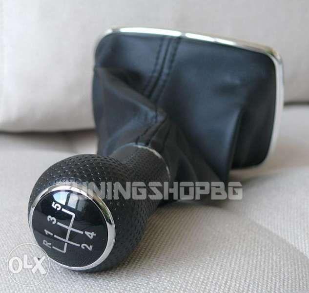 Топка и маншон за скоростен лост за VW Golf / Голф 4 Bora Бора