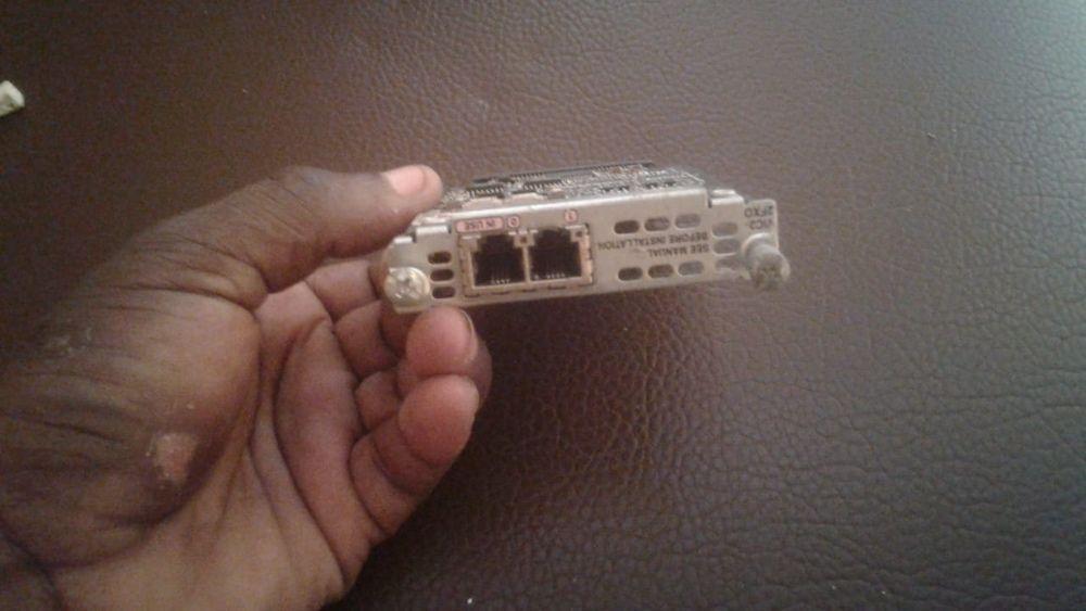 Vendo Placas FXO, FXS, Serial, e Fast Ethernet