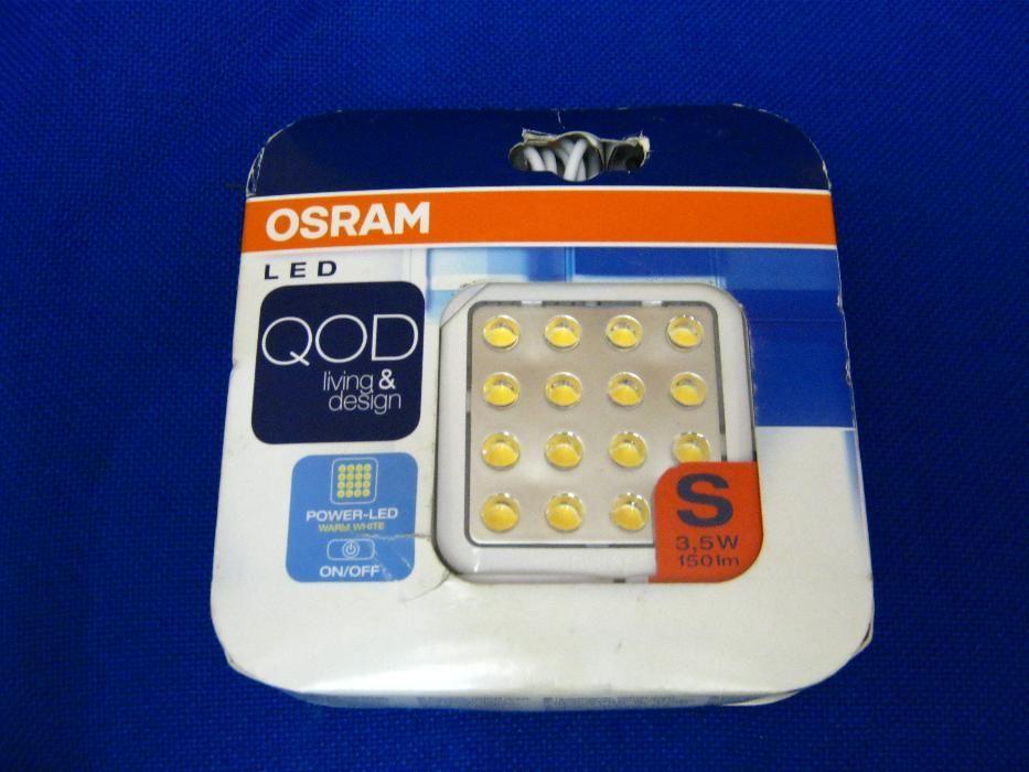 Lampă led Osram QOD ultra-plată, ultra-luminoasă, 3,5 W,
