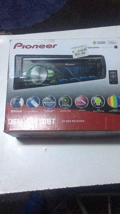 Reprodutor pioneer Com Bluetooth