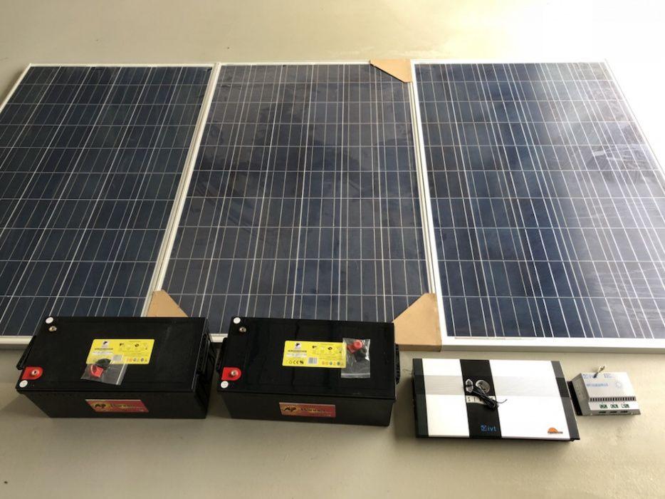 Ansamblu panouri solare !!
