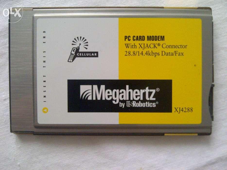 fax-modem PCMCIA Megahertz