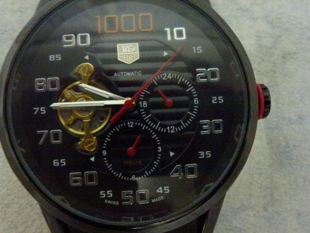 Ceas mecanic,automatictagheuerchronograph,excelent,ramburs