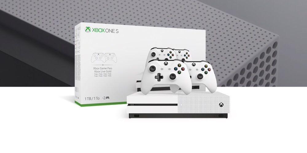 Xbox one s 1TB + 2 joystick novo selado
