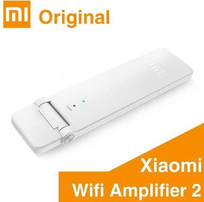 Xiaomi Mi WiFi + усилвател V 2 Repeater 300 Mbps, Wireless Amplifier