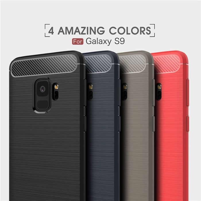 RUGGED ARMOR силиконов калъф кейс мат Samsung Galaxy S9, S9+, Plus, A8