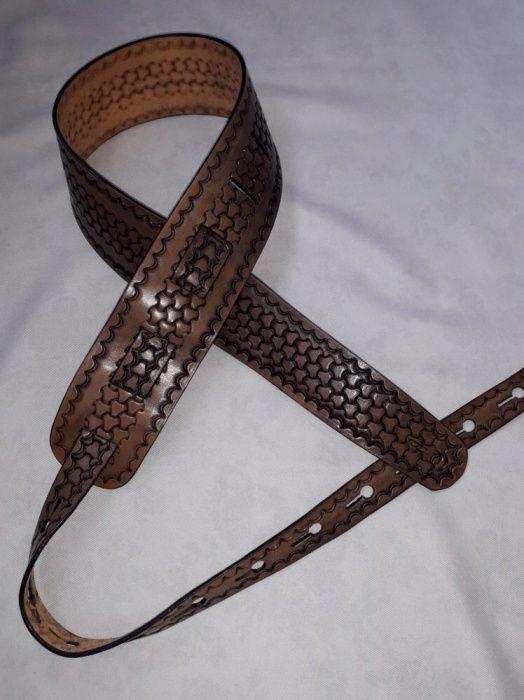 Curea chitara piele calitate superioara(leather strap guitar)