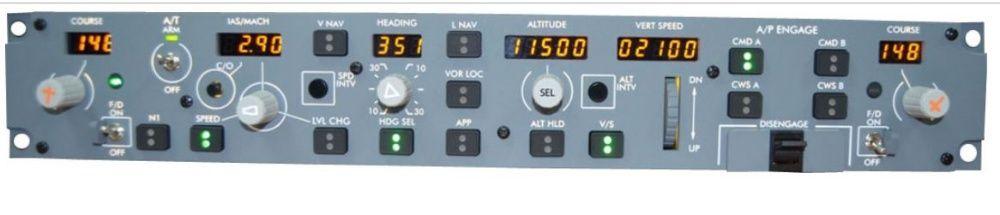 B737 NG - Auto Flight Panel - MCP