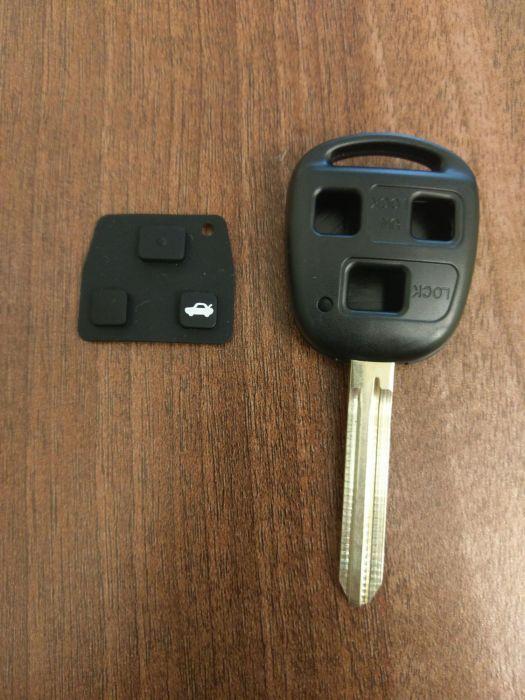 Carcasa cheie Toyota cu 3 butoane
