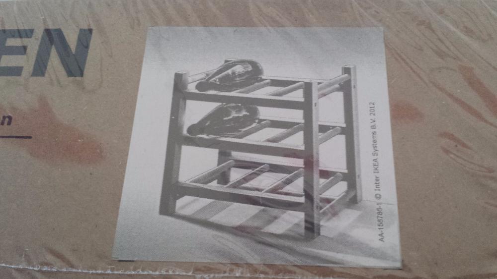 Suport din lemn pentru sticle Hutten