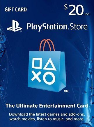 PSN CARD 20$ conta USA