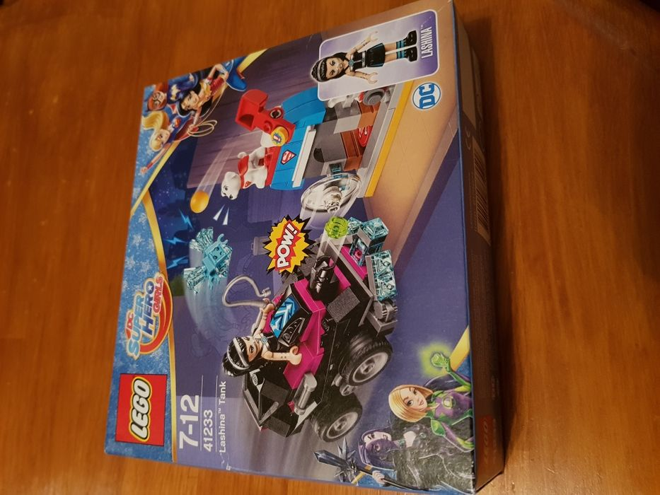 LEGO Nou DC Super Hero Girls Tancul Lashina 41233