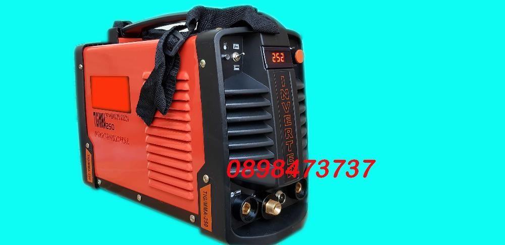 TIG/MMA 250A инверторен електрожен с аргон Orange