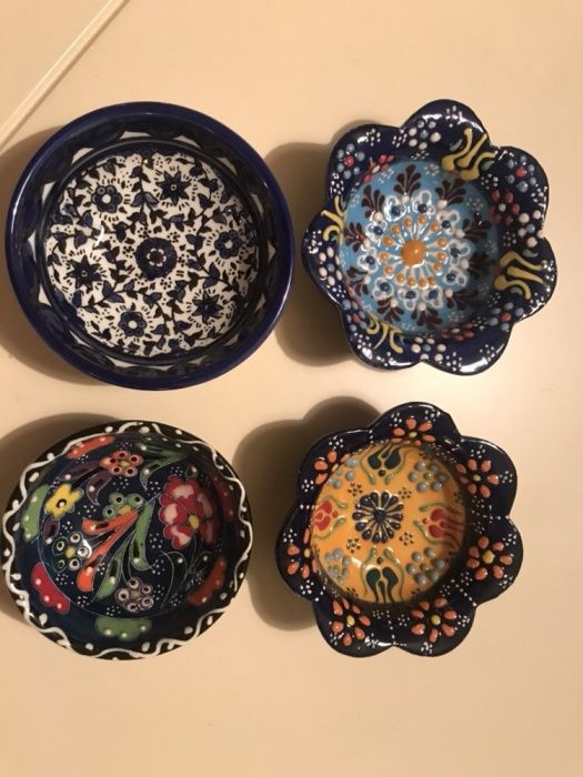 Farfurii artizanale colectie lucrate manual decorative