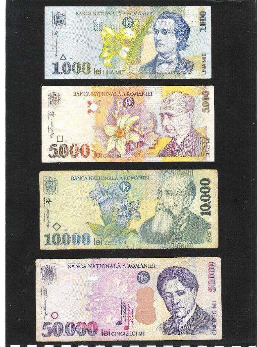 Lot bancnote Romania UNC
