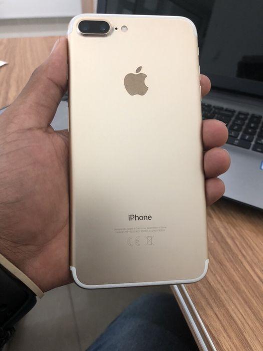 Vendo iPhone 7 Plus 128GB gold novo com cabo