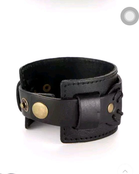 Promoção braceletes de couro