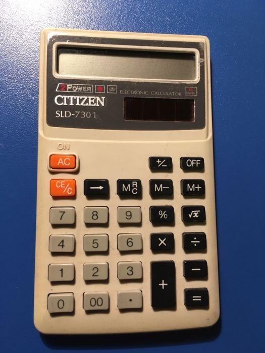 Calculator Citizen de buzunar cu baterie solara