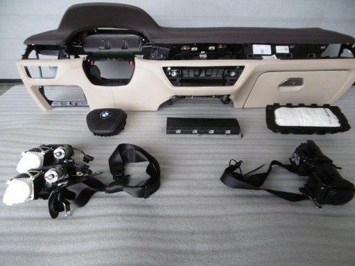 Bmw G11 G12 seria 7 kit airbag plansa bord centuri piele orice culoare