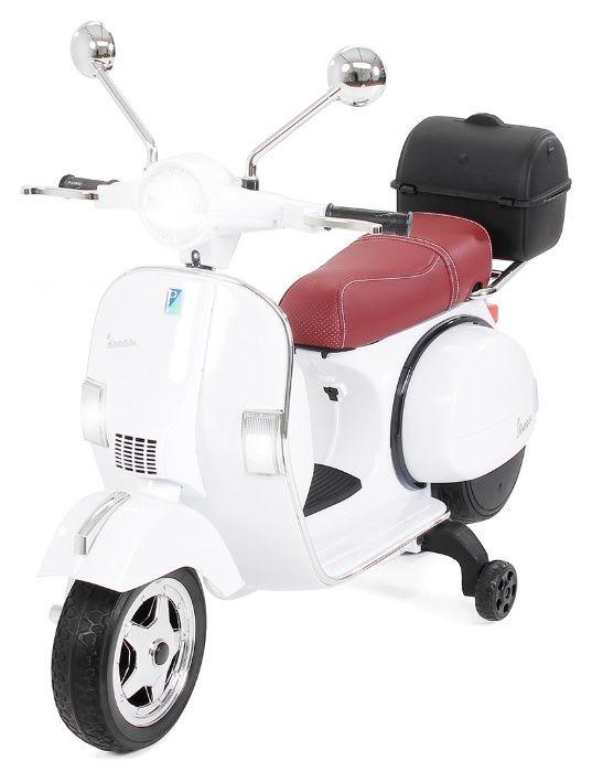 Motoretă pentru Copii, Vespa , PX150 ,12 V 7 ap, 1 Loc Cristesti - imagine 3