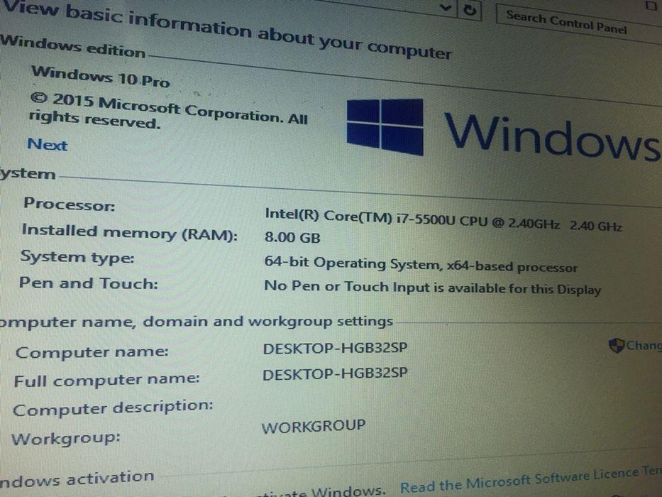 Laptop Acer core i7 5 geração Nvidia Alto-Maé - imagem 3