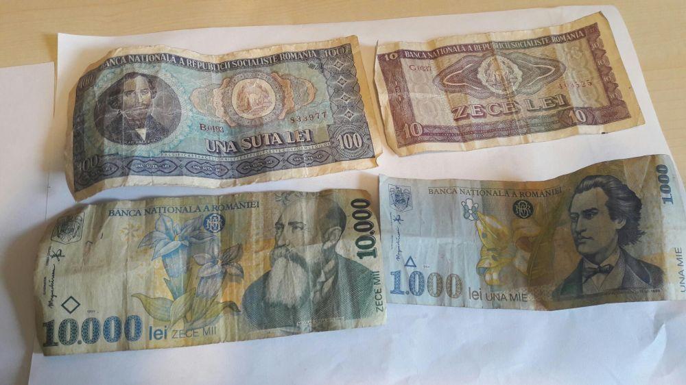 Colectie menede si bancnote vechi Buciumeni - imagine 5