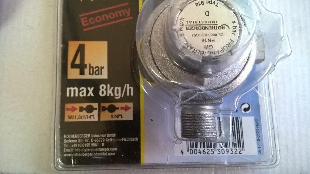 Регулатор за пропан Ротенбергер за газови уреди-печки,котлони,горелки гр. Пазарджик - image 3