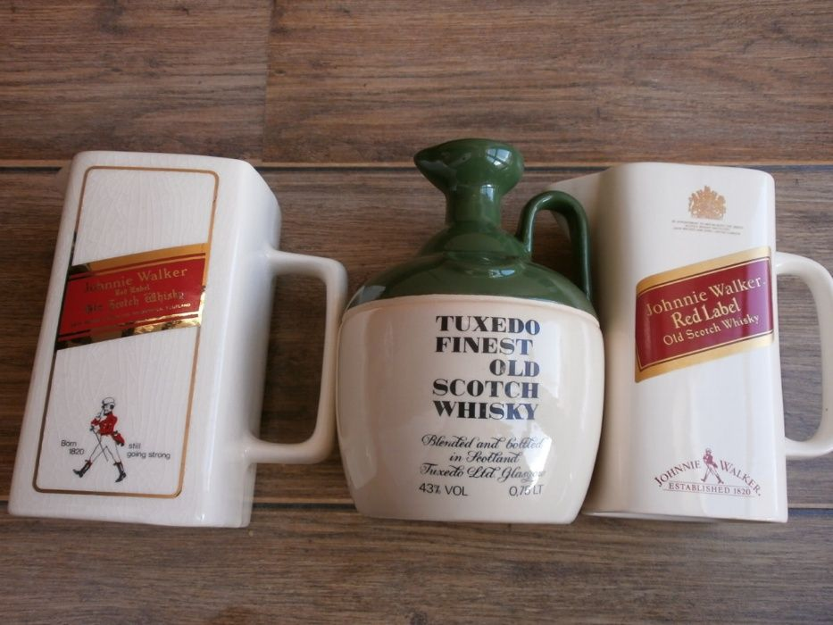 Vintage 70's и 80'S Johnnie WALKER, TUXEDO