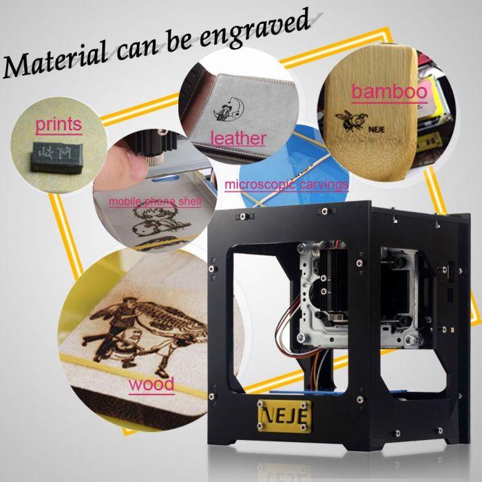 Impressora a Laser CNC de Máquina de Gravação a Laser