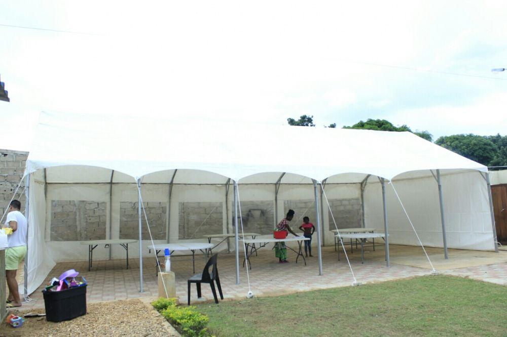 Tenda em Aluguel