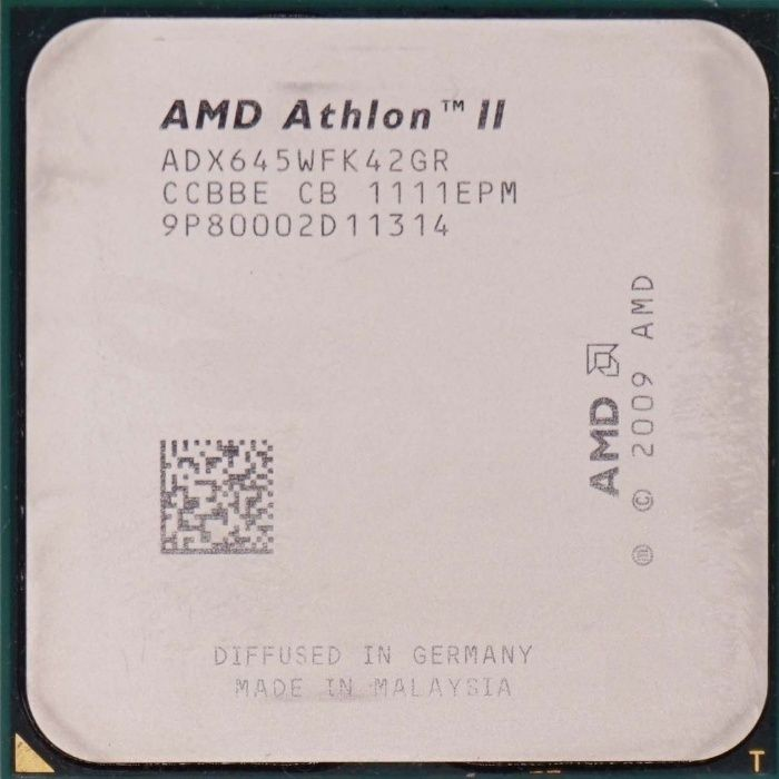AMD Athlon II X4 645 /3.1GHz/