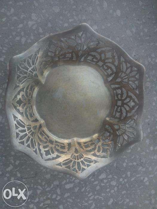 Fructiera/Farfurie centru de masa din argint Wiskemann